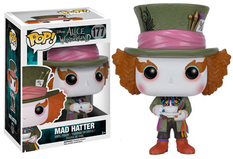 Mad Hatter Funko Pop vinyl figure