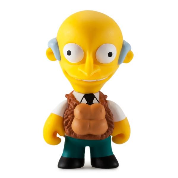 Mr Burns Kidrobot Mystery boxed Simpsons figure