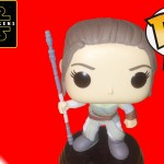 Funko Pop! Rey vinyl figure, Star Wars The Force Awakens Toy Review and Unboxing