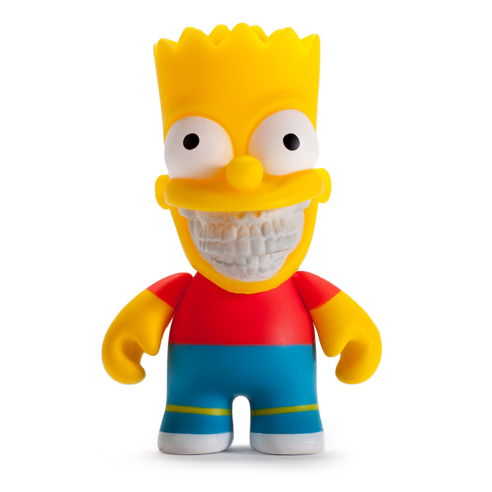 Ron English Bart and Homer Grin 3 inch Mini Figures
