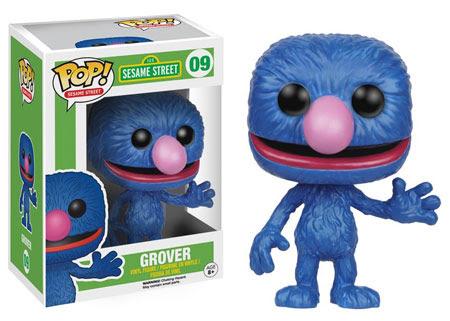 Sesame Street Wave 2 Funko Pop! Vinyl figure Grover