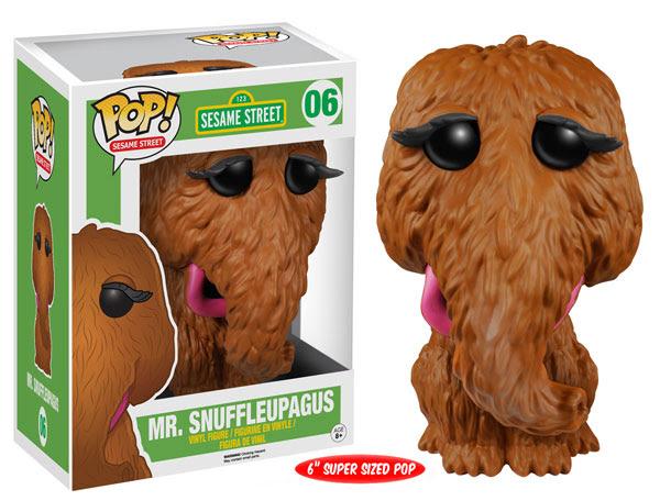 Sesame Street Wave 2 Funko Pop! Vinyl figure Mr Snuffleupagus 6 inch super sized toy