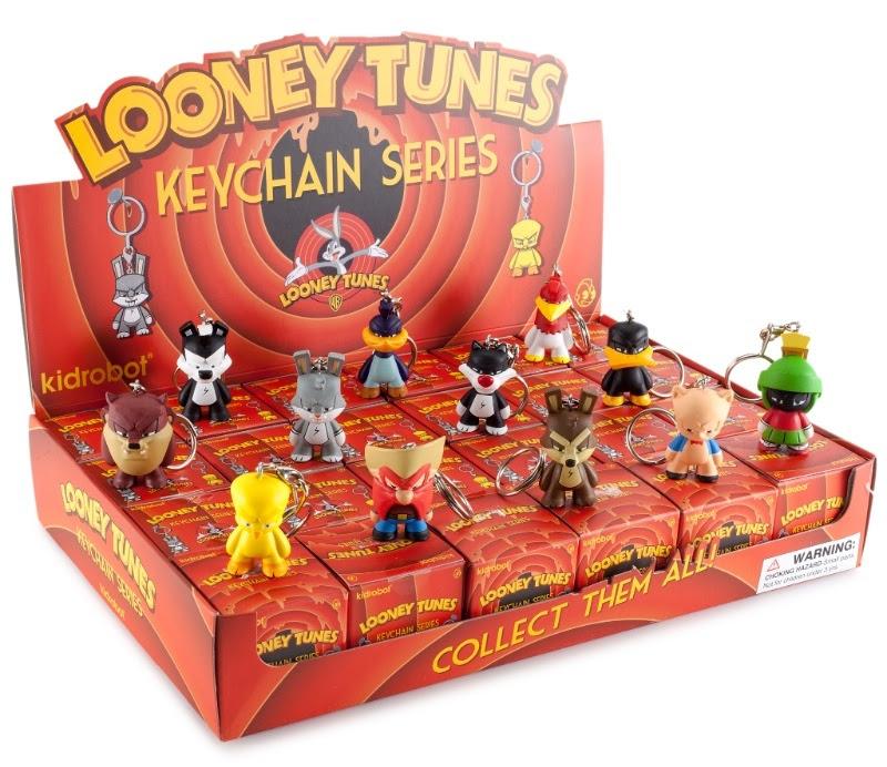 looney tunes kidrobot keychains