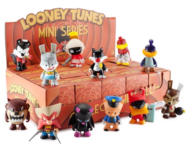 looney tunes kidrobot mystery figures