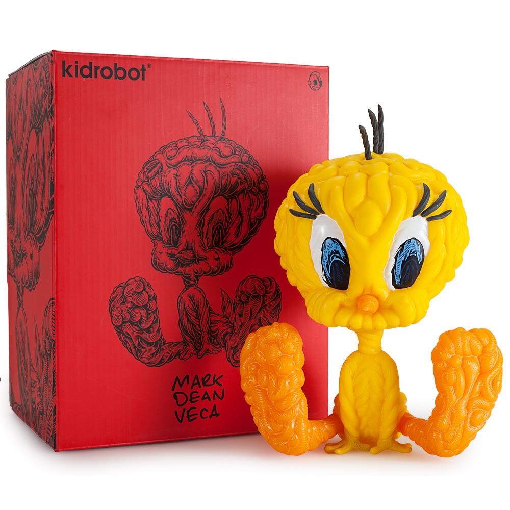 Limited Edition Mark Dean Veca Tweety Bird Art Toy
