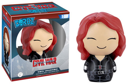 Captain America Civil War Funko Dorbz Black Widow