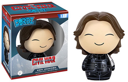 Captain America Civil War Funko Dorbz Bucky