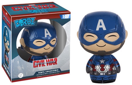 Captain America Civil War Funko Dorbz Captain