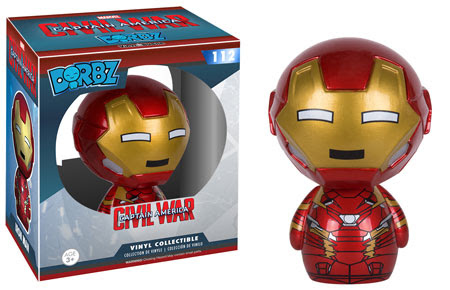 Captain America Civil War Funko Dorbz Iron Man