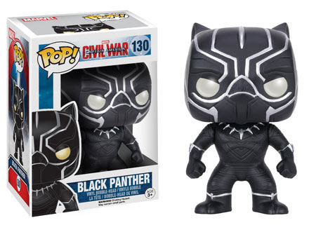 Captain America Civil War Funko vinyl figure Black Panther