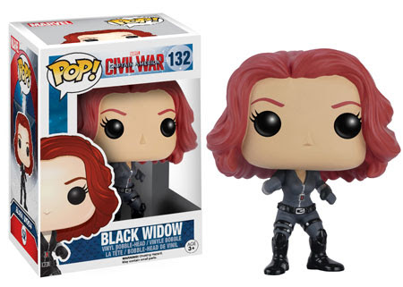 Captain America Civil War Funko vinyl figure Black Widow