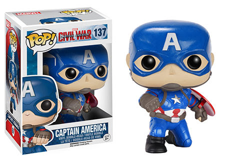 Captain America Civil War Funko vinyl figure Captain America
