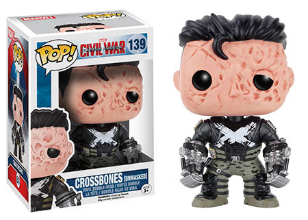 Captain America Civil War Funko vinyl figure Crossbones Unmasked