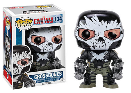 Captain America Civil War Funko vinyl figure Crossbones