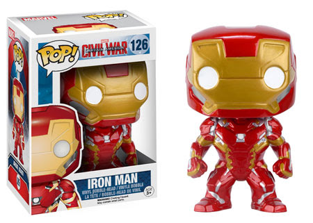 Captain America Civil War Funko vinyl figure Iron Man