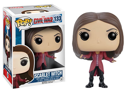 Captain America Civil War Funko vinyl figure Scarlet Witch