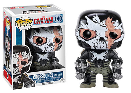 Captain America Civil War Funko vinyl figure Target Exclusive Crossbones Battledamaged
