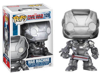 Captain America Civil War Funko vinyl figure War Machine