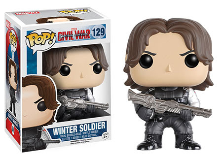 Captain America Civil War Funko vinyl figure Winter Soldier