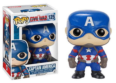 Captain America Civil War Funko vinyl figure