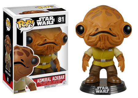 Funko Pop! Star Wars The Force Awakens Admiral Ackbar