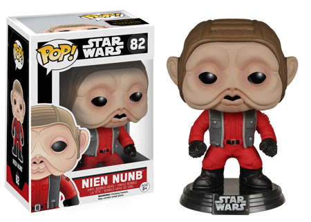 Funko Pop! Star Wars The Force Awakens, Nien Nunb vinyl figure