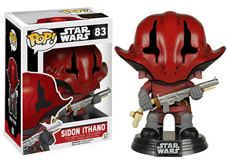 Funko Pop! Star Wars The Force Awakens Sidon Ithano vinyl figure