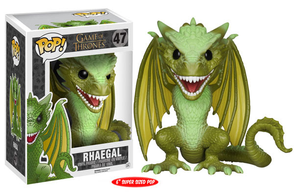 Rhaegal Game of Thrones Funko Pop vinyl figure