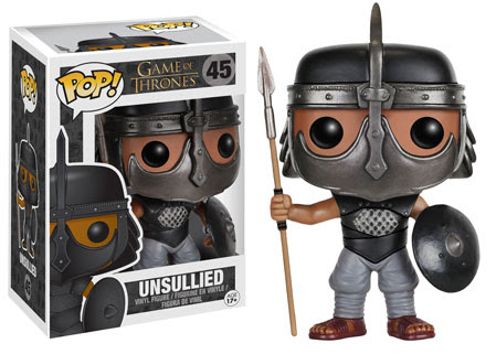 Unsullied Game of Thrones Funko Pop vinyl figure
